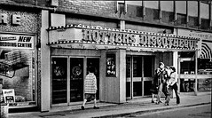 Rotters Discotheque. Doncaster. (ManOfYorkshire) Tags: rotters discotheque disco nightclub silverstreet silverst doncaster town centre clubbing famous tv bw 1970s southyorkshire westriding
