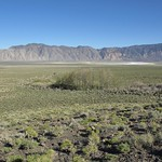 View looking ESE across the south end of Deep Springs Valley to Mount Nunn and Deep Springs Lake thumbnail