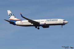 Boeing 737 -8HC(WL) SUNEXPRESS TC-SEJ 61171 Francfort septembre 2018 (Thibaud.S.) Tags: boeing 737 8hcwl sunexpress tcsej 61171 francfort septembre 2018
