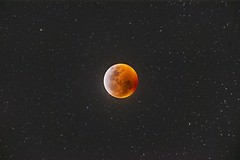 Lunar Eclipse - 1-20-19 (Kyle Krinninger) Tags: astrometrydotnet:id=nova3161423 astrometrydotnet:status=solved