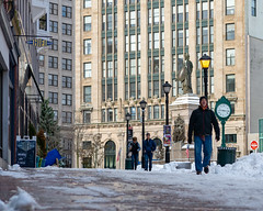Morning After First Snow of the Season, Monument Square (Corey Templeton) Tags: city maine monumentsquare newengland portland portlandmaine snow winter unitedstates us