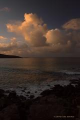 3KA12048a_C_2019-01-18 (Kernowfile) Tags: pentax cornwall cornish waves sea breakingwaves sky clouds spray rocks cliffs reflections
