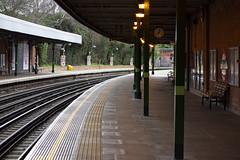 Grange Hill Station (London Less Travelled) Tags: uk unitedkingdom britain england london urban city eastlondon chigwell grangehill station rail railway tfl underground tube platform hainault essex redbridge