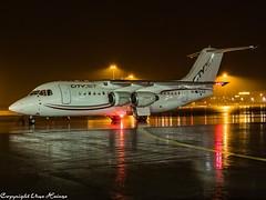 CityJet EI-RJU Night HAJ at Night 1 (U. Heinze) Tags: aircraft airlines airways airplane flugzeug planespotting plane haj hannoverlangenhagenairporthaj night olympus eddv nightshot