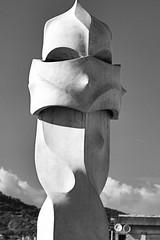 Casa Mila (La Pedrera) by Antoni Guadi (john weiss) Tags: barcelona leixample lapedrera places spain