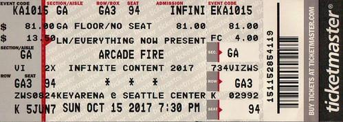 Arcade Fire fan photo