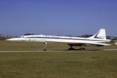 F-WTSA BAC Aerospatiale Concorde EGPK 24-06-74 (MarkP51) Tags: fwtsa bacaerospatiale concorde airfrance af afr prestwick airport pik egpk scotland transport aircraft airliner airplane plane image markp51 sunshine sunny aviationphotography prakticallc kodachromeii slide film scan kodachrome