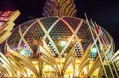 Grand Lisboa, Casino (werner boehm *) Tags: wernerboehm grandlisboa casino macao china kuppel cuppola architecture