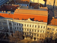 House seen from the Cupola of St. Stephen's Basilica (Normann) Tags: hungary budapest basilica