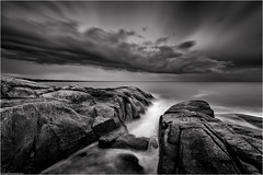 Storm, larapuna coast (niggyl (well behind)) Tags: tasmania eastcoasttasmania binalongbay skeletonbay bayoffires larapuna tasmansea seascape sea coastal beach waves water thesea contrejour backlighting sonyilce7rm2 sony sonyalpha7 sonya7rii a7rii zeiss zeissbatis2818 zeissbatis1828 zeisslens zeissemount batis batis18mm batis218 nikcollection squall cloud therebeastormabrewin cloudsstormssunsetssunrises cloudscape stormclouds longexposure theethereallongexposure breakthroughphotography 10stopndfilter 6stopndfilter blackandwhite bw monochrome monochromatic bnw bnwseascape lowkeyblackandwhite silverefexpro