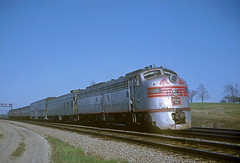CB&Q E9 9995 (Chuck Zeiler52) Tags: cbq e9 9995 burlington railroad emd locomotive naperville train dinky chuckzeiler chz