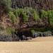Natürliche Quelle am Secret beach Kauai Hawaii