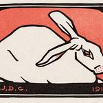 Lying rabbit (1916) byJulie de Graag (1877-1924). Original from The Rijksmuseum . Digitally enhanced by rawpixel. thumbnail