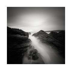 Achnahaird beach (DavidO'Brien) Tags: pinhole lensless stenope achnahaird beach seascape square realitysosubtle 6x6f scotland ilford pan f medium format