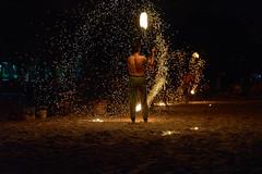 Fire Dance (EricGsk) Tags: voigtlander macro apolanthar 65mmf2 sony sonya7ii sonymirrorlesscamera sonyemount fire dance streets streetphotography streetperformance nightphotography