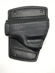 Ruger LC9 Car Holster (americanleathersmith) Tags: carholster leatherholster gunholster concealcarry holster mounted leather
