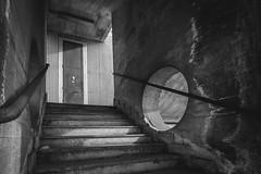 Scala di grigi (FButzi) Tags: genova genoa liguria italy italia stairs greyscale geometry geometric lines bw building