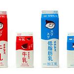 牛乳パッケージの写真