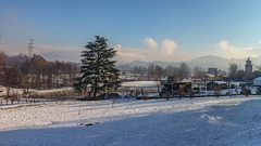 Let it snow (Marta Panzeri) Tags: snow landscape frost winter garden nature brianza italy hills snowing weather