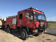 MAN Fire Appliance - Lagoa, Portugal -  January 2019 (firehouse.ie) Tags: algarve vehicles vehicle engine tender truck apparatuses appliances vfci portugal lagoa feuerwehrwagen feuerwehrauto feuerwehr apparatus appliance bombeiros fire man