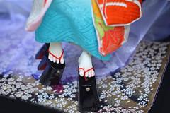 Graceful steps: walking in geta. (Bright Wish Kanzashi) Tags: bjd bjdkimono dollchateau hybridbjd thistle dollchateauhybrid dearminehybrid bjdfeet bjdfeetmod bjdgeta bjdshoes bjdmod