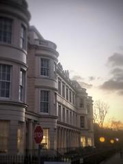 Regency Evenings: Park Square West (marc.barrot) Tags: shotoniphone sunset regency architecture building uk nw1 london regent'spark parksquarewest