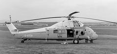 G-ATCA Westland Wessex 60 msn WA462 Bristow Helicopters (eLaReF) Tags: gatca westland wessex 60 msn wa462 bristow helicopters turnhouse edinburgh