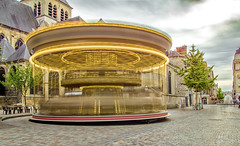 Carrousel de Reims (Reflet Optique) Tags: carrousel reims light painting mouvement