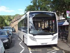 Hulley's of Baslow, bus MK63XAU in Bakewell (Tom Burnham) Tags: uk derbyshire bakewell bus dennis enviro200