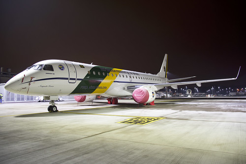 Força Aérea Brasileira (Brazilian Air Force) Embraer ERJ190 (VC-2); 2591@ZRH;22.01.2019