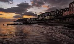 Sunrise at Cromer, Norfolk (boogie1670) Tags: fuji xt3 camera 1024mm lens norfolk seascapes cromer ngc sunrise water reflections coastal