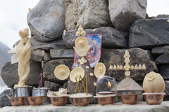 Puka offerings (Jamie @project-himalaya.com) Tags: projecthimalaya 2007 2007shishapangma 2007shishapangmaexpedition canonef70200mmf4lisusm canoneos5d copyrightjamiemcguinness httpprojecthimalayacom shishapangma xizangtibet china