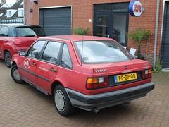 1992 Volvo 440 (Davydutchy) Tags: volvo 440 car auto automobile automobiel vehicle voiture bil pkw sweden swedish zweden berkel enschot otoo service december 2018