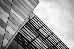 Ford Center - Details (AP Imagery) Tags: simple lines details monochrome fordcenter building architecture minimal rally blackandwhite bw trump kentucky usa