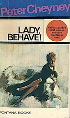 Lady Behave! (samo_gone) Tags: fontana books peter cheyney cover illustration renato fratini