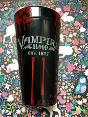 Vampire blood cup #wellloved #spirithalloween #vampire #vampireblood #love #goth #cup (direngrey037) Tags: wellloved spirithalloween vampire vampireblood love goth cup