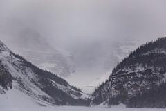 Mountains around Lake Louise (Lee Rosenbaum) Tags: banffnationalpark landscape alberta mountains canada lake lakelouise snow mountain