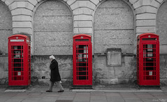 Three (peterwilson71) Tags: arch city cityscape exposure landscape movement motion outdoors people street telephone red man