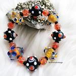 Add some fun colors to your day! Elastic bracelet with vibrant color lampwork beads ❤️ . . . . . #beadedbracelets #handmadebracelets #beadedgifts #crystal #negativeenergy #lampworkbeads #beads #fashionbeads #elasticbracelet #handmadeisbest #shopsmal thumbnail