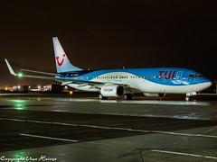 TUI fly D-ABKA (U. Heinze) Tags: aircraft airlines airways planespotting airplane haj plane flugzeug hannoverlangenhagenairporthaj olympus eddv night nightshot