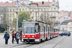 BRN_1715_201811 (Tram Photos) Tags: ckd tatra kt8d5rn2 brno brünn strasenbahn tram tramway tramvaj tramwaj mhd šalina dopravnípodnikměstabrna dpmb