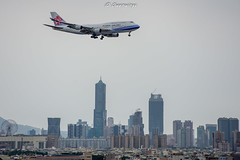 DSC_0491 (Owenwings) Tags: 中華航空 chinaairlines b18215 boeing boeing747 b744 jumbojet aviation aircraft airplane 飛行機写真 landing