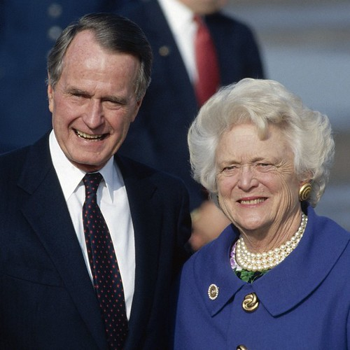 George and Barbara Bush, From FlickrPhotos