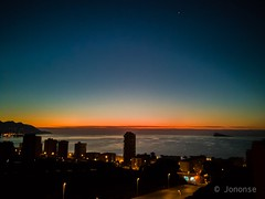 Benidorm   #benidorm #alicante #amanecer #poniente #sunrise #dawn #sea #mediterranean #seashore #beach #colors #landscape #cityscape #sky #bluehour #goldenhour #blue #silence #silhouette #silueta (Jononse) Tags: sky sunrise alicante bluehour sea colors benidorm mediterranean silueta goldenhour blue seashore poniente beach amanecer silhouette cityscape dawn silence landscape