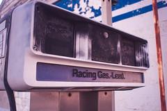 Racing Gas.-lead (IAmTheSoundman) Tags: ohio urbanexploring urbex gas station morning sunrise fuel middleofnowhwere jakebarshick takumar sony a99 m42 manualfocus vintagelens