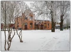 Jessheim stasjon 16.12.2018 (Krogen) Tags: norge norway norwegen akershus romerike ullensaker jessheim winter vinter krogen historie history panasoniclumixgx7