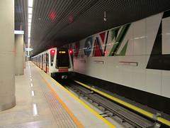 Siemens Inspiro, #66, Metro Warszawskie (transport131) Tags: metro subway mw siemens inspiro wtp ztm warszawa