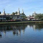 Florida - Tampa: UT - University of Tampa campus seen from Hillsborough River. The minaret-like towers are a distinctive landmark. thumbnail