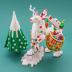 Santa's Reindeer (Milan Sekiz) Tags: lego xmas new year santa elf holyday deer reindeer robot