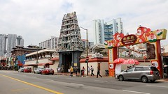 IMG_2604 (Pataclic) Tags: chinatown hindou quartierchinois singapour temple